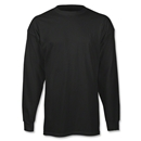 adidas Long Sleeve Logo T-Shirt (Black)