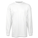 adidas Long Sleeve Logo T-Shirt (White)