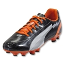PUMA evoSpeed 5 FG (Black/White/Team Orange)