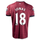 Newcastle United 12/13 JONAS Away Soccer Jersey