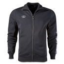 Umbro Fleece Taped Track Jacket (Black)