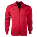 Umbro Fleece Taped Track Jacket (Red)
