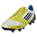 adidas F50 adizero TRX FG (Leather) (Running White/Lab Lime/Tech Onix)