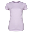 Junior Ladies 4.3 Oz Cotton T-Shirt (Pink)