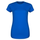 Ladies 4.3 Oz Cotton T-Shirt (Royal)