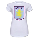 Aston Villa Junior Women's T-Shirt (White)