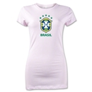 Brazil Junior Women's T-Shirt (Pink)