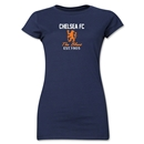 Chelsea Graphic Junior Women's T-Shirt (Navy)