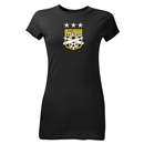 Charleston Battery Three Star Junior Women's T-Shirt (Black)
