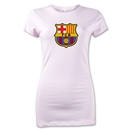 Barcelona Core Junior Women's T-Shirt (Pink)