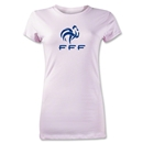 France FFF Junior Women's T-Shirt (Pink)