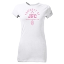 Juventus JFC Junior Women's T-Shirt (White)