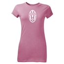 Juventus Logo Junior Women's T-Shirt (Pink)
