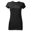 Juventus Junior Women's T-Shirt (Black)