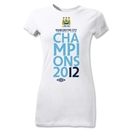 Manchester City 2012 Women's League Champions T-Shirt (White)