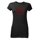 Manchester United 1878 Junior Women's T-Shirt (Black)