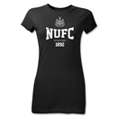 Newcastle United NUFC Junior Women's T-Shirt (Black)