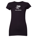 Sharks Junior Women's Rugby T-Shirt (Black)