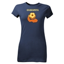 Cascarita Junior Womens T-Shirt (Navy)
