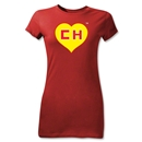 Chapulin Junior Women's T-Shirt (Red)