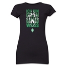 Werder Bremen I Am Green and White Junior Women's T-Shirt (Black)