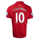 Liverpool 12/13 COUTINHO Home Soccer Jersey