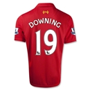 Liverpool 12/13 DOWNING Home Soccer Jersey