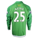 Liverpool 12/13 REINA LS Home Goalkeeper Jersey
