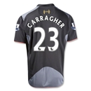 Liverpool 12/13 CARRAGHER Away Soccer Jersey
