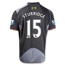 Liverpool 12/13 STURRIDGE Away Soccer Jersey
