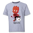 AC Milan Milanello Youth T-Shirt (Gray)