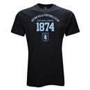 Aston Villa 1874 Youth T-Shirt (Black)