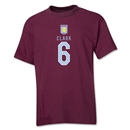 Aston Villa Clark Youth T-Shirt (Maroon)