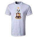 Bradford City Youth Crest T-Shirt (White)