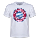 Bayern Munich Youth Logo T-Shirt (White)