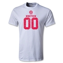 Bayern Munich Distressed 1900 Youth T-Shirt (White)