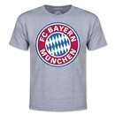 Bayern Munich Logo Youth T-Shirt (Gray)