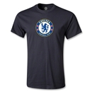 Chelsea Crest Youth T-Shirt (Black)
