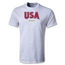 CONCACAF Gold Cup 2013 Youth USA T-Shirt (White)