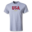 CONCACAF Gold Cup 2013 Youth USA T-Shirt (Gray)