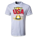 USA CONCACAF Gold Cup 2013 Champions Youth T-Shirt (White)