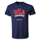 USA CONCACAF Gold Cup 2013 Champions Youth T-Shirt (Navy)