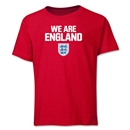 England We Are Youth T-Shirt (Red)
