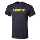 Barcelona 2013 La Liga Champions Youth T-Shirt (Black)