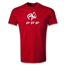 France FFF Youth T-Shirt (Red)
