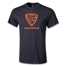 Jaguares de Chiapas Distressed Youth Logo T-Shirt (Black)