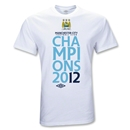 Manchester City 2012 Youth League Champions T-Shirt (White)