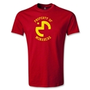 Morelia Monarcas Property Youth T-Shirt (Red)