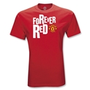 Manchester United Youth Forever Red T-Shirt (Red)