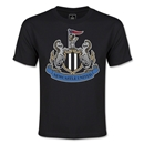 Newcastle United Crest Youth T-Shirt (Black)